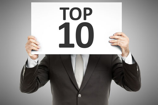 Clarke Bell in Insolvency Listing Top 10