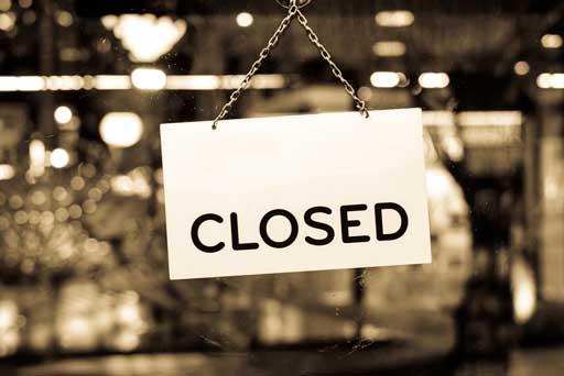 How do I close a company with no debts?
