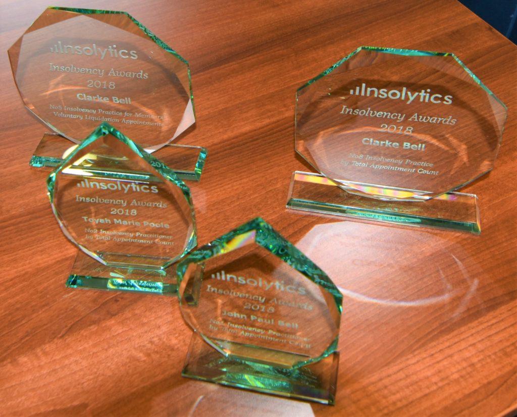 Insolytics awards
